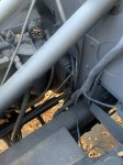 Air Locker Hose On Fire Wall & New Fuel Pressure Gauge.jpg
