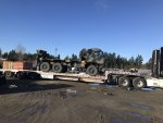 2007 Stewart & Stevenson M1084A1 with crane loaded.jpg