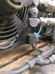 Hydraulic Cooler Fan Terminal Strip Arrow.jpg