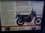 Harley Davidson MT-500 Pic 7 ad in HD Mag.jpg